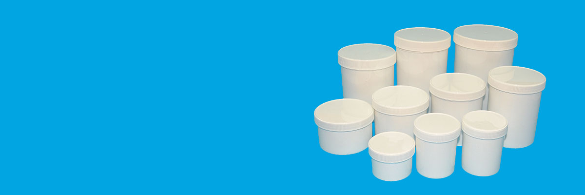 Standard Screw-lid Wide-mouth Containers